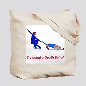 Try a Death Spiral Tote Bag